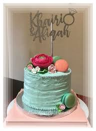 Engagement Cakes Food Drinks Baked Goods On Carousell