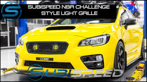 2015 Sti Rally Lights Subispeed Nbr Challenge Style Light Grille 2015 2017 Wrx Sti