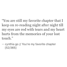 You Re My Favorite Chapter Poem Thoughts And Qoutes