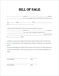 Vehicle Bill Of Sale Form Awesome Generic Auto Bill Of Sale Form Web Art Gallery Automotive Vehicle