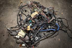 rehab rewired upgrading fox body wiring with ron francis wiring Electrical Wiring Harness Interview Questions rehab's 20 plus year old wiring harness after removal from the car there are miles of wiring here, much of which aren't necessary for our application electrical wiring harness interview questions