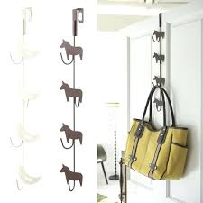 bag hooks for wall clothing hooks closet door hangers sliding closet door bottom track decor astounding