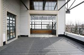 howard garage doorsHow About a Somerville Roof Deck with a Glass Garage Door
