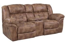 homestretch padre reclining console loveseat item number 129 22 15
