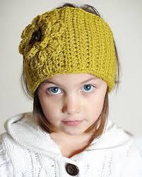 Crochet Headband Pattern Enchanting Crochet Ear WarmerHeadband With Flower Crochet Headbands Patterns