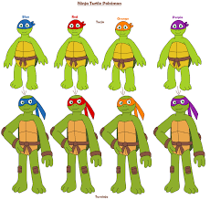 ninja turtles names girl. Unique Girl Ninja Turtle Pokemon By MCsaurus  Inside Turtles Names Girl