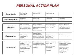 Sample Personal Action Plan Fascinating Personal Action Plan Template Simple 48 Free Social Examples Example
