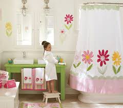 kids bathrooms decorating ideas flowers floral theme