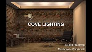 coved ceiling lighting. Cove Lighting Example Modeled With SketchUp Coved Ceiling F