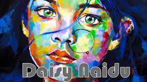 sd painting acrylic portrait by daisy naidu