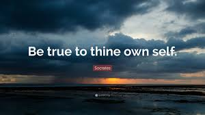 Socrates Quote Be True To Thine Own Self 11 Wallpapers