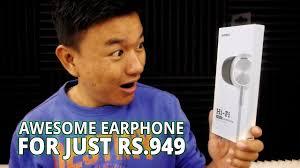MINISO <b>Hi-Fi Metal Earphone</b> Unboxing & Review - YouTube