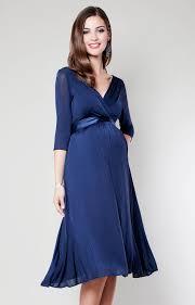 Willow Maternity Dress Midnight Blue Maternity Wedding Dresses