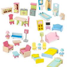 dolls furniture set. Bigjigs Dolls House Furniture Dollhouse Set Of 35 Wow Gifts Home Decor Ideas Bedroom E