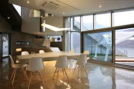 Korean interior design Luxury Riverfronthomesouthkorea Idesignarch Architectural Island House In South Korea Idesignarch Interior