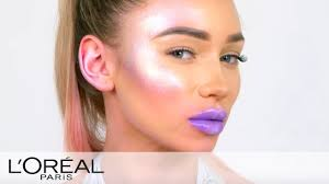 galactic e makeup tutorial l oreal