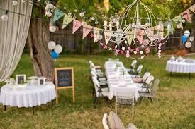 outdoor party decor large size of party decor garden themed table decor idea for outdoor birthday