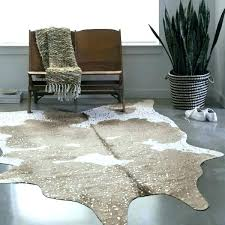 ivory cowhide rug white faux cowhide rug taupe ivory and silver brown living room big rugs cream fake cowhide rug faux ivory cowhide rug