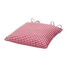 idgran chair cushion red ikea