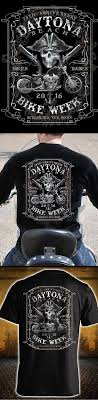 2016 Daytona Bike Week 75th Anniversary Edition T shirt.