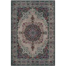 safavieh artisan gray fuchsia 7 ft x 9 ft area rug