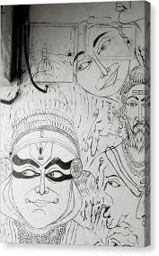 Kerala Culture Canvas Prints Page 3 Of 5 Fine Art America