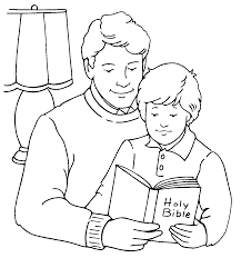 Small Picture Fathers Day Coloring Page Coloring Pages For Kids Pinterest