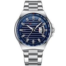 <b>CURREN</b> 8375 <b>Men's</b> Business Quartz Watch Calendar <b>Big</b> Dial ...