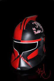 harley quinn custom painted clone trooper helmet