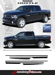 Vehicle Specific Style Dodge Ram Truck Hustle Hood Spears and Side ...