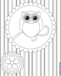Small Picture 20 best Owls images on Pinterest Draw Owl coloring pages and