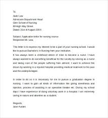 nurse anesthesia letter of recommendation example nursing school requirements