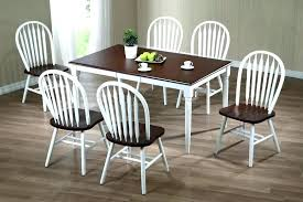 farmhouse table with metal chairs and bench small round white dining furniture gorgeous farmho farm black