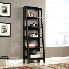 leaning bookcases sawyer white bookcase ladder for ikea design 24
