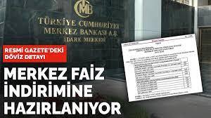 Resmi Gazete'deki döviz detayı: Merkez Bankası faiz indirimine  hazırlanıyor....