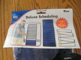 New Deluxe Scheduling Pocket Chart By Carson Dellosa