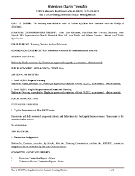 Fillable Online Stipcak, ZBA Representative Donald Hartwick, Beth Ball,  John Maahs and Richard Turcotte Fax Email Print - PDFfiller