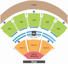 Chastain Park Amphitheatre Seating Chart Chastain Park Amphitheatre Seating Chart With Seat Numbers