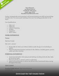 Home Health Registered Nurse Resume Sample Care Objective Duties