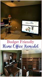 home office on a budget. Before Plans And Photos Of Our Budget Friendly Home Office Remodel Project From Walking On Sunshine A