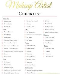 full size of makeup checklist template sles starter kit brush essentials for beginners bag bride mua
