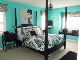 Parent Bedroom Black And White And Teal Bedroom Luxhotelsinfo