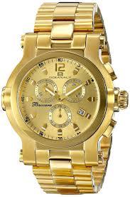 oceanaut men s oc0824 baccara xl analog display quartz gold watch shop to buy