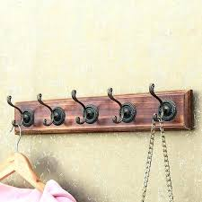 hook rack wall mount wall coat hooks hook rack wall hangers coat rack creative wall hanger
