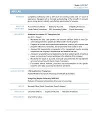 Accounting Assistant Resume Accountant Cv Achievable For 1