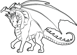Collection Of Dragons Coloring Pages Download Them And Try Dragon