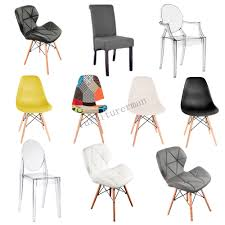 dining chair eiffel office lounge wooden legs ghost clear arm patchwork chair uk