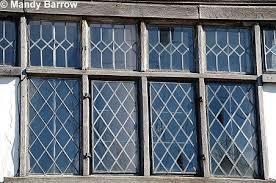 Tudor Window Leaded Glass panel - Diamoned ...