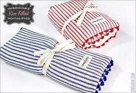 we love the simple clean lines of these microwavable neck and lap back heating pads after under a minute in the microwave you ll get up to an hour of safe