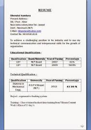 resumeformat12 download resume format resumes format for freshers